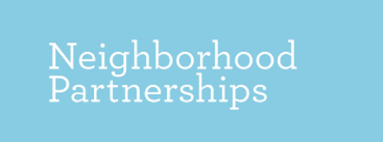 Neighborhood Partnerships  Oregon Housing Alliance